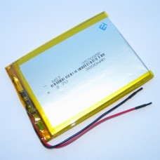 Аккумуляторная батарея HST-357095P - 3000mAh 3.7v - размер 95*70*3,5 - 2 контакта