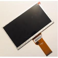Дисплей 7 дюймов - размер 165*100мм - 800x480 пикс - 50pin - AT070TN92 / AT070TN94