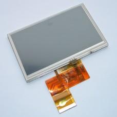 Дисплей (жк экран) с тачскрином для автосканера Launch x431 Solo