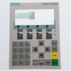 Мембрана лицевая панель с кнопками клавиатуры для Siemens SIMATIC OP77B - 6AV6651-1CA01-0AA0