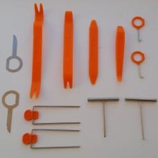 Набор инструментов для разборки панелей / салона автомобиля и головных устройств