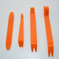 Набор инструментов для разборки панелей / салона автомобиля и головных устройств - 4 штуки