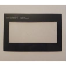 Пленка защитная накладка для панели оператора Mitsubishi GT1020-LBD-C / GT1020-LBL-C
