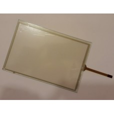 Тачскрин 155мм на 105мм - диагональ 187мм - сенсорное стекло