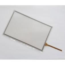Тачскрин 165мм на 104мм - 7 дюймов - сенсорное стекло - шлейф сбоку снизу
