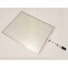 Тачскрин 234мм на 178мм - диагональ 293мм - 4 контакта широкий разъем - сенсорное стекло