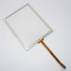 Тачскрин 90мм на 70мм - диагональ 113мм - сенсорное стекло