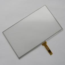Тачскрин 117мм на 70мм - 5 дюймов - сенсорное стекло - шлейф под пайку - тип 1