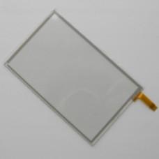 Тачскрин 101мм на 63мм - диагональ 118мм - сенсорное стекло